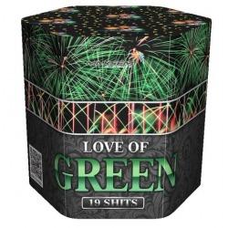 Любовь к зеленому / Love of green (1,2'' x 19)