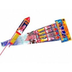 Кассиопея (набор ракет, четыре разных эффекта)