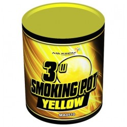 Smoking Pot Yellow