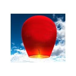 Небесный фонарик (овал) Красный