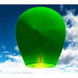 Небесный фонарик (овал) Зеленый