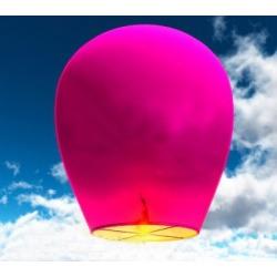 Небесный фонарик (овал) Розовый