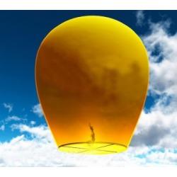 Небесный фонарик (овал) Желтый