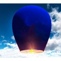 Небесный фонарик (овал) Синий