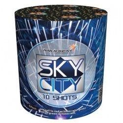 """Небесный город / Sky city (0,8"""" x 10)"""