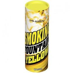 Дым желтый / Smoking Fountain (30 сек)