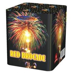 "Красная парча / Red brocade (1,0"" x 9)"