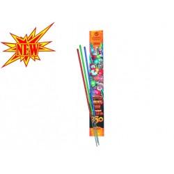 Цветной бенгальский огонь 350