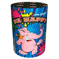 "BE HAPPY(1""х7)"